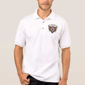Number One Norwegian Grandpa Polo Shirt