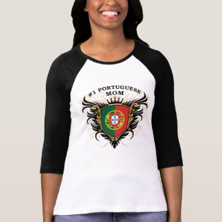 Number One Portuguese Mom T-shirts