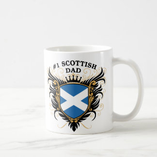Number One Scottish Dad Coffee Mug