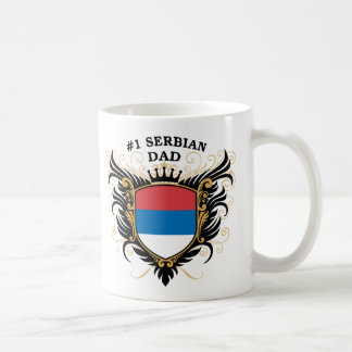 Number One Serbian Dad Coffee Mug