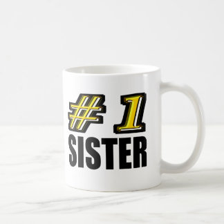 Number One Sister Coffee Mug