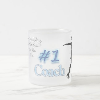 Number One Skating Coach, Thank You Mug (Blue)