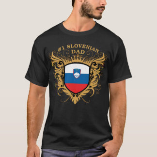 Number One Slovenian Dad T-Shirt