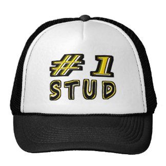 Number One Stud Trucker Hat
