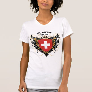 Number One Swiss Mom T-Shirt