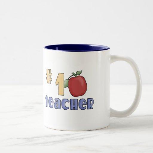 Number One Teacher Mug