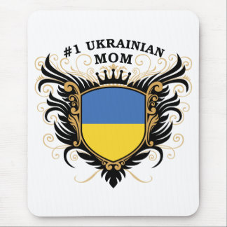 Number One Ukrainian Mom Mouse Pad