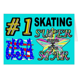 Number One USA Skating Superstar Card