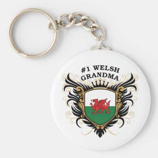 Number One Welsh Grandma Keychain