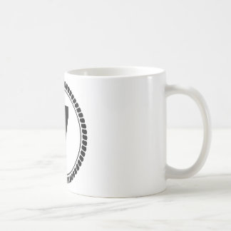 Number Seven Circle Coffee Mug