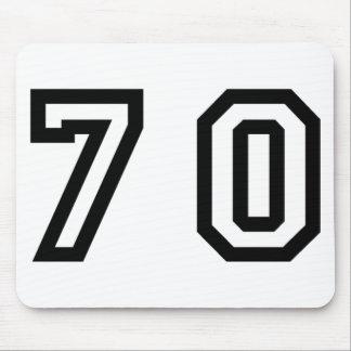 Number Seventy Mouse Pad