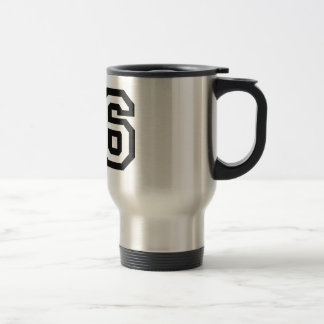 Number Sixteen Travel Mug