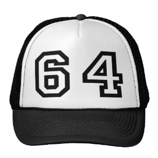 Number Sixty Four Trucker Hat