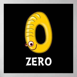 Number Zero Poster