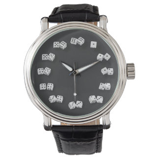 Numbered Dice Novelty Watch