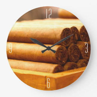 (Numbered)Hand Rolled Cigars from La Romana DR. Large Clock