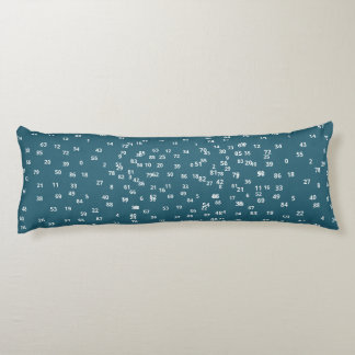 Numbers/Grade A Cotton Body cushion 51 cm x 137 cm