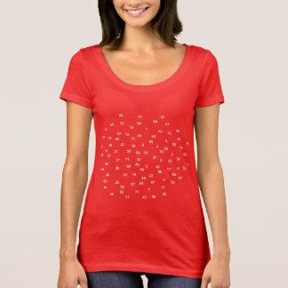 Numbers / Women's Next Level Scoop Neck T-Shirt