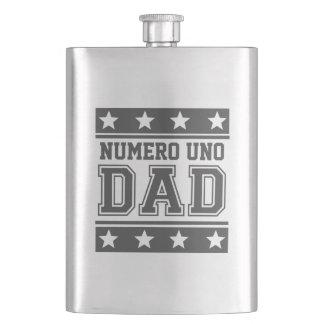 Numero Uno Dad Flasks