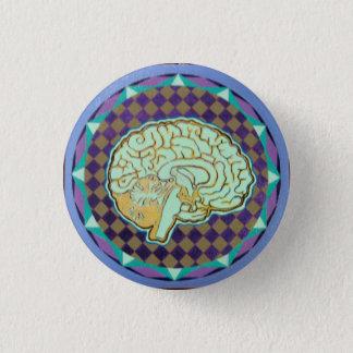 numinous brain 1 inch round button