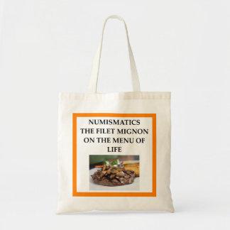 NUMISMATICS TOTE BAG