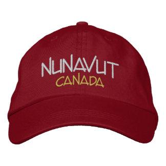 Nunavut Canada Custom Embroidered Hat