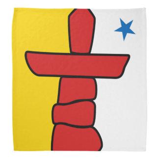 NUNAVUT Flag Bandanas