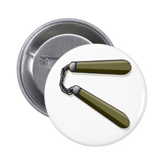 Nunchucks 2 Inch Round Button