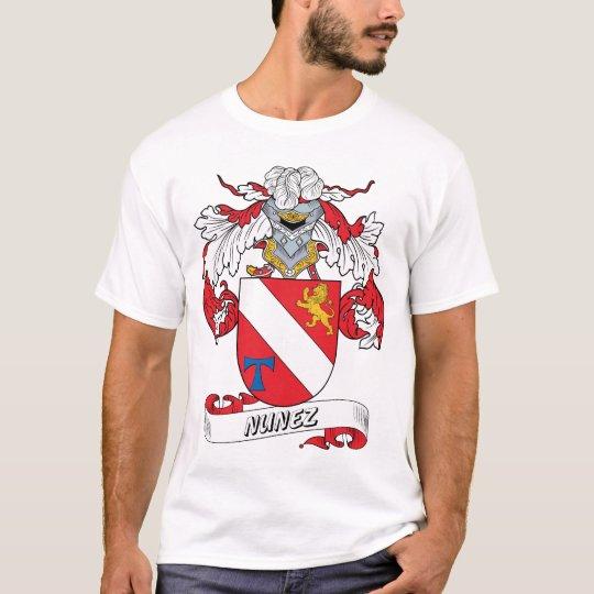 Nunez Family Crest T-Shirt