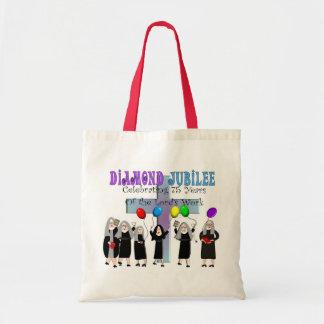 Nuns Diamond 75th Jubilee Gifts Tote Bag