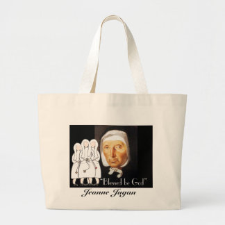 Nuns Golden and Silver Jubilee Gifts Large Tote Bag