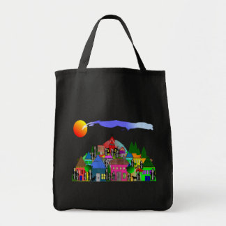 """Nuns of the Village""  Catholic Nun Art Gifts Tote Bag"