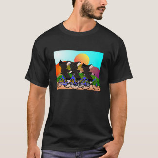 Nuns on Bicycles Art Gifts T-Shirt