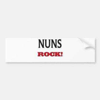 Nuns Rock Bumper Sticker