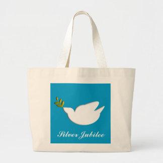 Nuns Silver 25th Jubilee Tote Bag