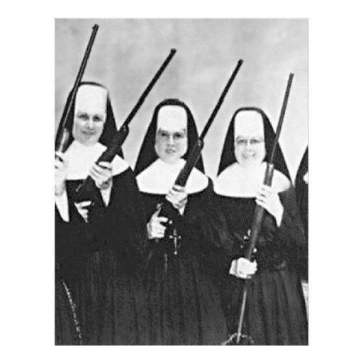 Nuns With Guns Customized Letterhead