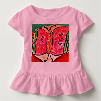 Nurah's Butterfly Drawing Toddler T-shirt