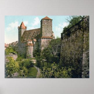 Nuremberg Castle Poster