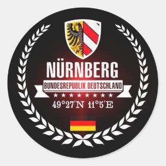 Nuremberg Classic Round Sticker