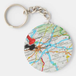 Nuremberg, Nürnberg Germany Basic Round Button Keychain