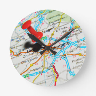 Nuremberg, Nürnberg Germany Round Clock