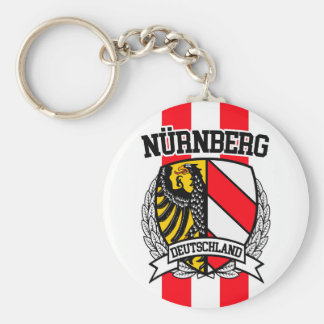 Nürnberg Basic Round Button Keychain