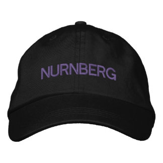 Nurnberg Cap Embroidered Hat