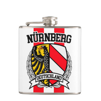 Nürnberg Hip Flask