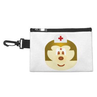 Nurse 鮑 鮑 Gray Clip Bag