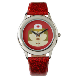 Nurse 鲍 鲍 Stainless Steel Wristwatch
