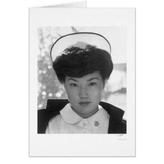 Nurse Aiko Hamaguchi 1943 Card