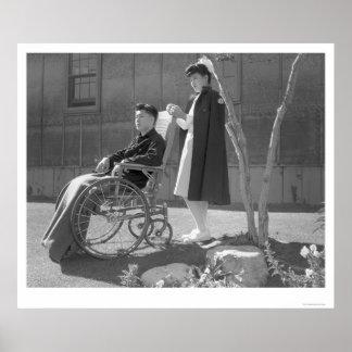 Nurse Aiko Hamaguchi & Tom Kano 1943 Poster