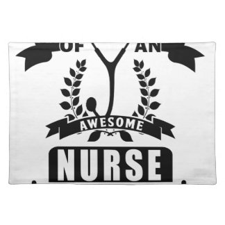 nurse and dad placemat