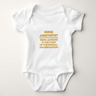 Nurse Anesthetist .. Official Job Description Baby Bodysuit
